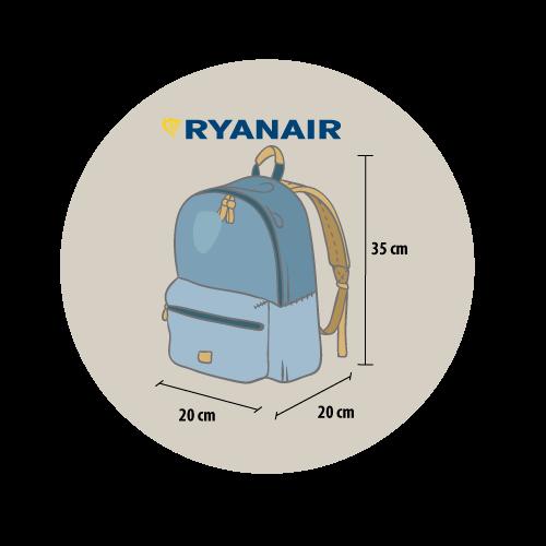 6df6be78e Equipaje de mano con Ryanair: todas las preguntas y respuestas [ 2019]